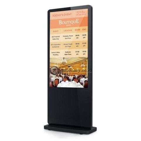 Digital Signage Display Floor Stand 50 Inch & Promosi