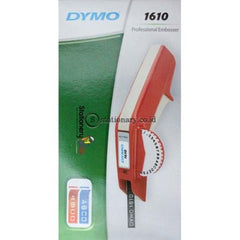 Dymo Mesin Label Embossed 1610 Office Equipment