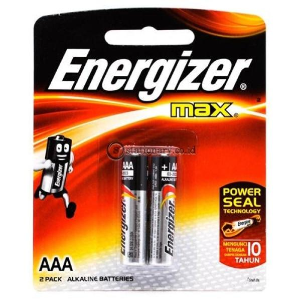 Energizer Baterai Max Aaa (2Pcs) Office Stationery
