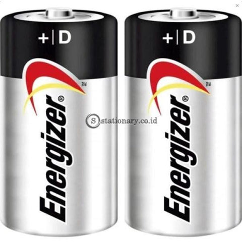 Energizer Max Alkaline Baterai E95 Bp2 Size D Office Stationery