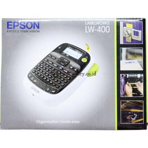 Epson Labelworks Printer Label Lw-400 Office Equipment Promosi