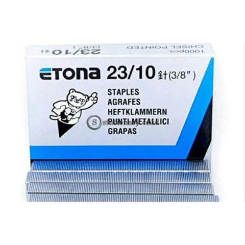 Etona Isi Staples 23/10 Office Stationery