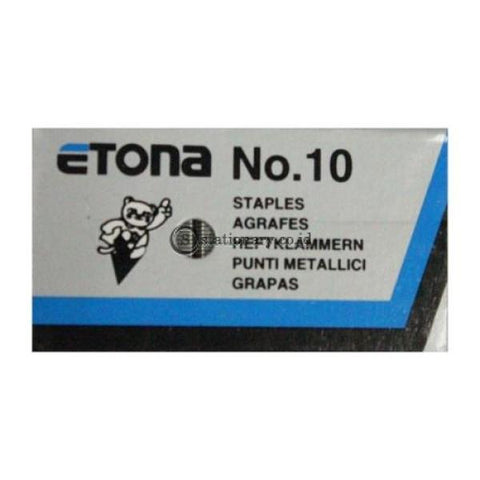 Etona Isi Staples No 10 Office Stationery