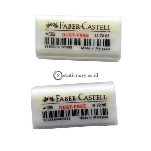 Faber Castell Penghapus Pensil Eraser Dust Free 7296 Putih Office Stationery