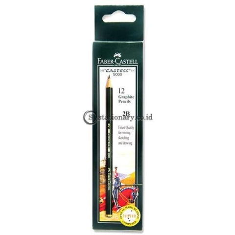 Faber Castell Pensil Kayu 9000 2B Office Stationery