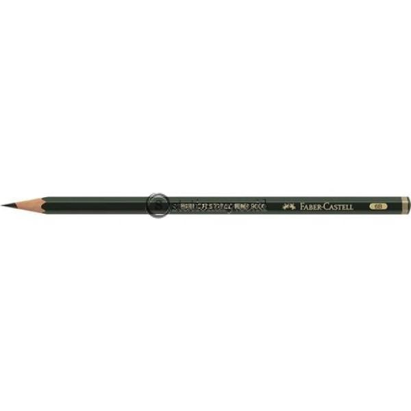Faber Castell Pensil Kayu 9000 6B Office Stationery