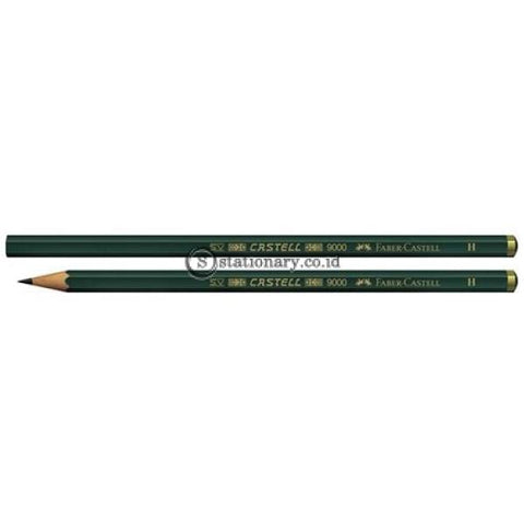 Faber Castell Pensil Kayu 9000 H Office Stationery