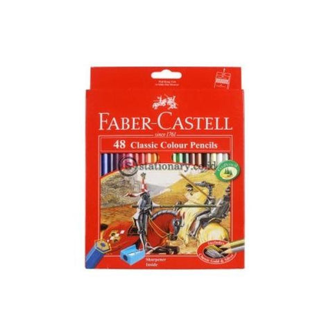Faber Castell Pensil Warna 48 Classic Long Office Stationery