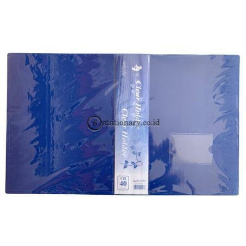 Felix Clear Holder Album A4 40 Pocket Office Stationery