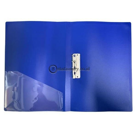 Felix Map Clip File Jepit Folio Biru Office Stationery