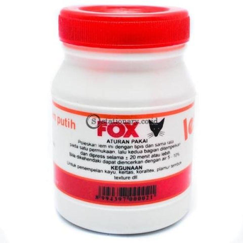 Fox Lem Putih Pvac 150 Gram Office Stationery