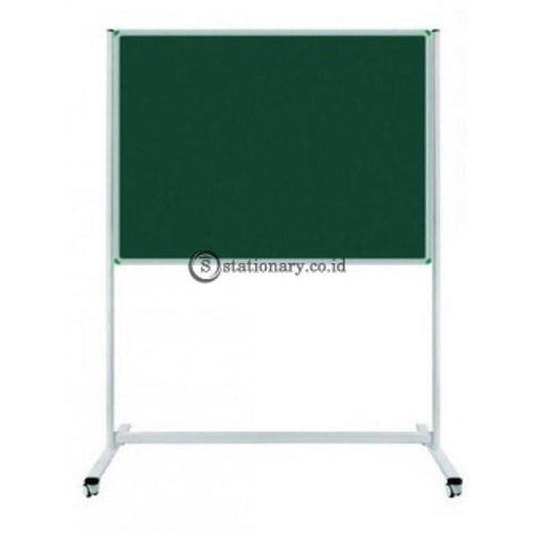Gm Cork Board Stand Kaki 90 X 180Cm Cb-918 Standard Office Equipment