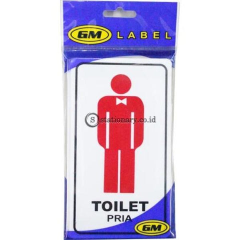 Gm Label Sign Akrilik (M) Toilet Pria / Wanita Lm-05 Office Stationery