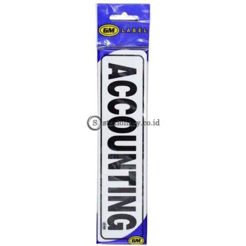 Gm Label Stiker (K) Accounting Office Stationery