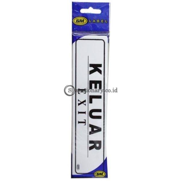 Gm Label Stiker (K) Keluar Lk-15 Office Stationery