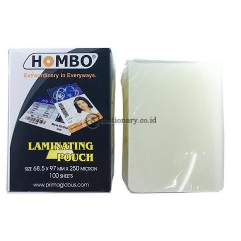 Hombo Plastik Laminating Ktp Id (68.5X97Mm) 250 Micron Office Stationery