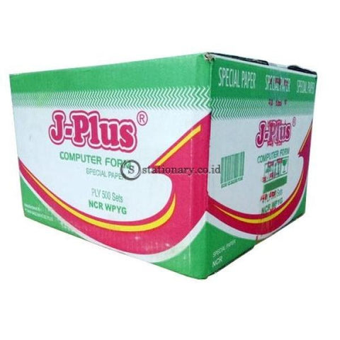 J-Plus Continuous Form Ncr Warna 14 7/8 Inch X 11 4Ply B4 Office Stationery