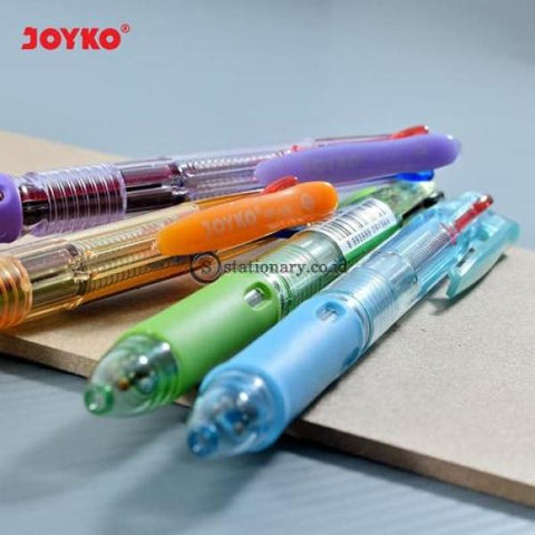 Joyko Ballpoint 3 Warna Trico 0.7Mm Bp-199 Office Stationery