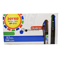 Joyko Ballpoint 4 Warna Quaco Bp-213 Office Stationery