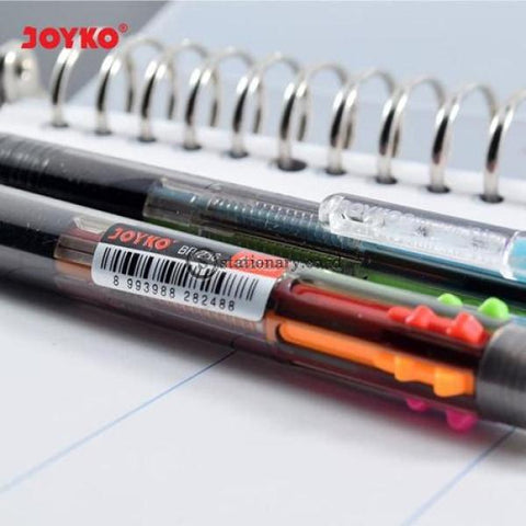 Joyko Ballpoint 6 Warna Sito 0.7Mm Bp-236 Office Stationery