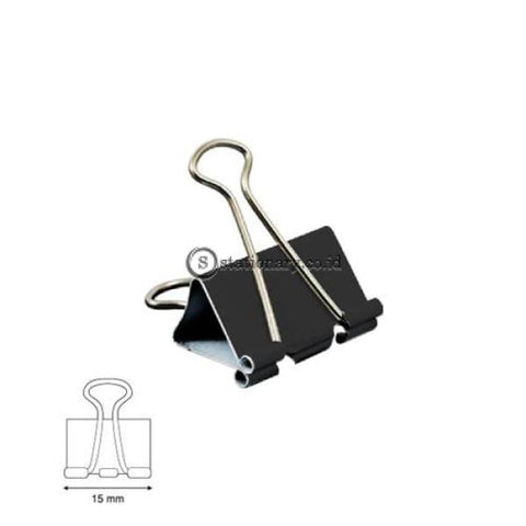 Joyko Binder Clip 1/2 Inch (15Mm) No 105 Office Stationery