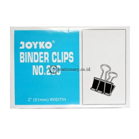Joyko Binder Clip 2 Inch (51Mm) No 260 Office Stationery