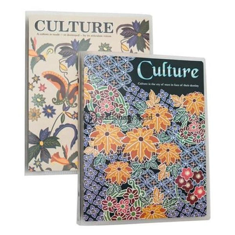 Joyko Binder Notebook A5 Culture1 A5-Tsct-M496 Office Stationery