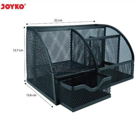 Joyko Desk Set Keranjang Besi (13.8X22X12.7Cm) Ds-22 Office Stationery
