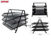 Joyko Document Tray 3 Susun Jaring Besi Dt-25 Office Stationery Promosi