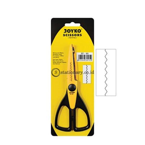 Joyko Gunting Gerigi Pinking Shears Scissors Zz-65 Office Stationery