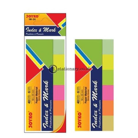 Joyko Index Mark Kertas (6 Colors) Im-36 Office Stationery