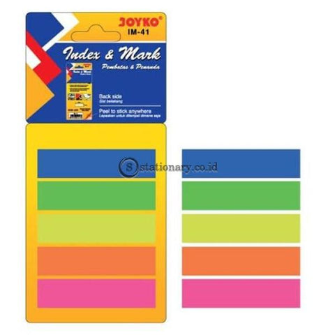 Joyko Index Mark Plastik (5 Colors) Im-41 Office Stationery