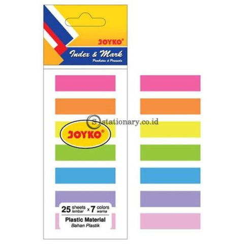 Joyko Index Mark Plastik (7 Colors) Im-30 Office Stationery