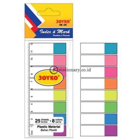 Joyko Index Mark Plastik (8 Colors) Im-38 Office Stationery