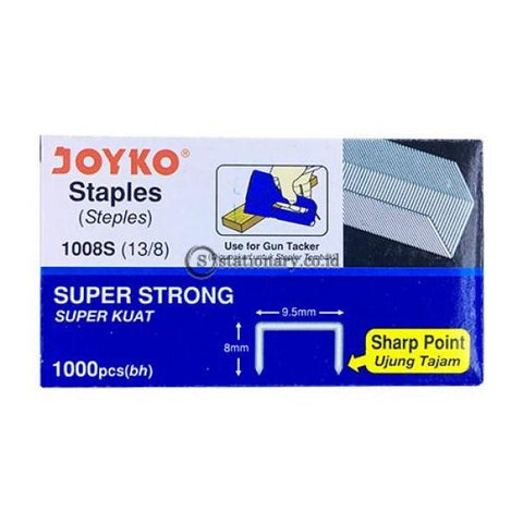 Joyko Isi Staples Gun Tacker 1008S 13/8 Inch Office Stationery