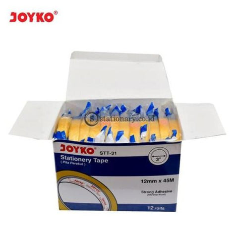Joyko Isolasi Bening (12Mm X 45M) Stt-31 (Kemasan Box Isi 12 Roll) Office Stationery