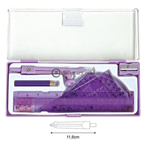 Joyko Jangka Math Set Ms-87 Office Stationery