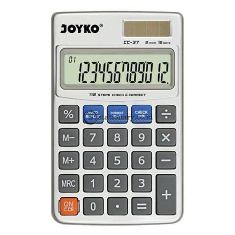 Joyko Kalkulator 12 Digit Check Correct Cc-37 Office Stationery
