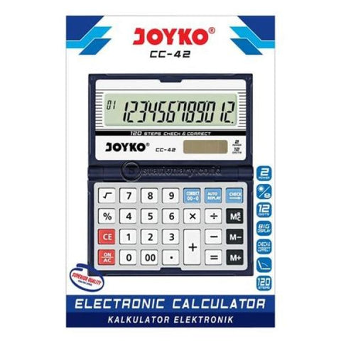 Joyko Kalkulator 12 Digit Check Correct Cc-42 Office Stationery