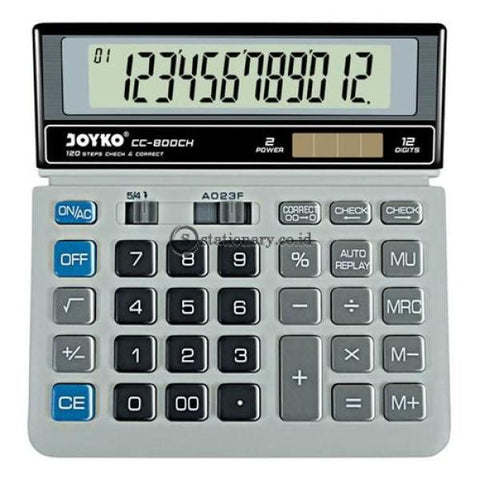 Joyko Kalkulator 12 Digit Check Correct Cc-800Ch Office Stationery
