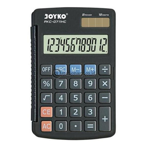 Joyko Kalkulator 12 Digit Pkc-0711Hc Office Stationery