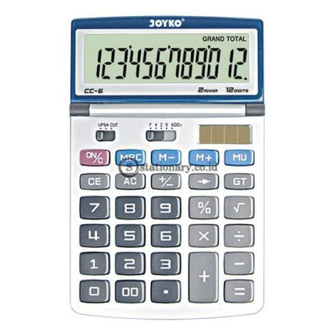 Joyko Kalkulator 12 Digits Cc-6 Office Stationery