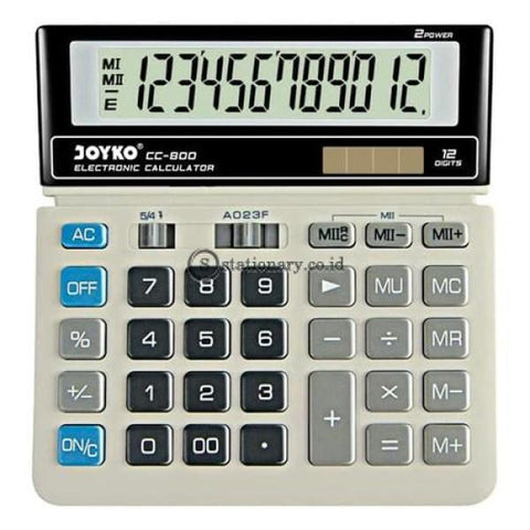 Joyko Kalkulator 12 Digits Cc-800 Office Stationery