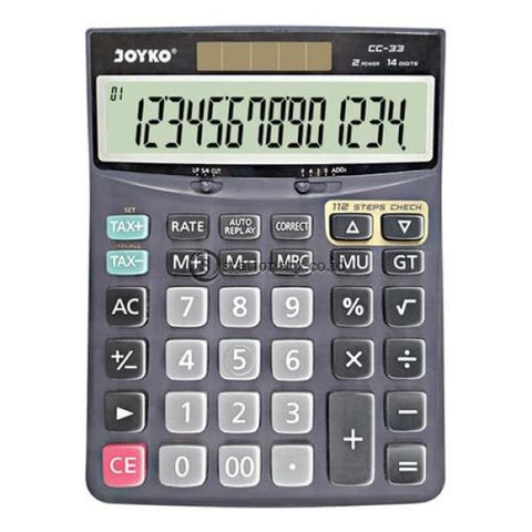 Joyko Kalkulator 14 Digit Check Correct Cc-33 Office Stationery