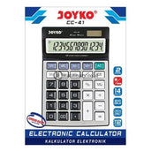Joyko Kalkulator 14 Digit Check Correct Cc-41 Office Stationery