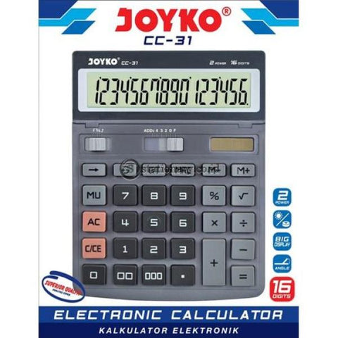 Joyko Kalkulator 16 Digit Cc-31 Office Stationery
