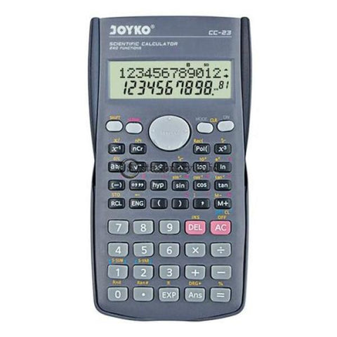 Joyko Kalkulator Scientific 240 Functions Cc-23 Office Stationery