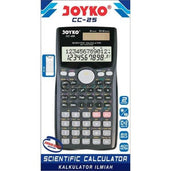 Joyko Kalkulator Scientific 401 Functions Cc-25 Office Stationery
