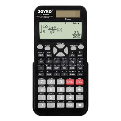 Joyko Kalkulator Scientific 417 Functions Cc-29A Office Stationery