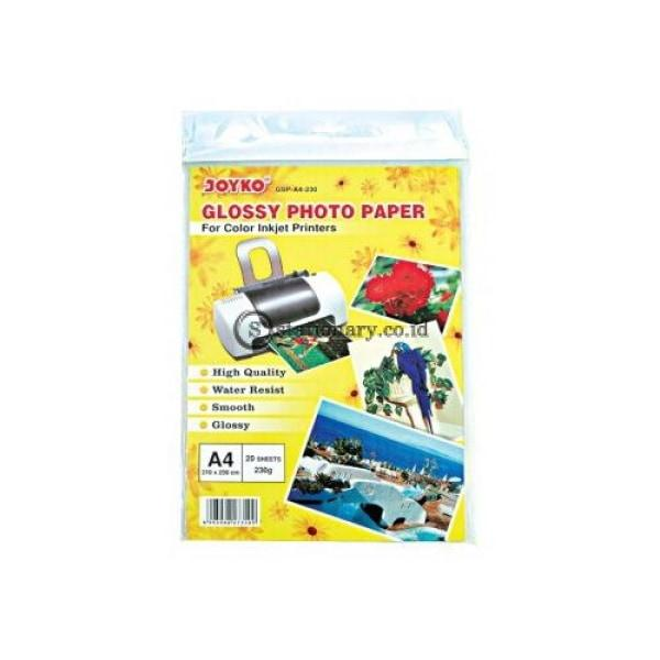 Joyko Kertas Foto Glossy Paper A4 Gsp-230Gr Office Stationery
